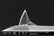 3-sided Sharpened Pyramidal AFM Tip