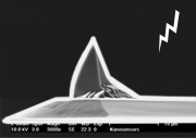 Platinum/Iridium Coated AFM Tip