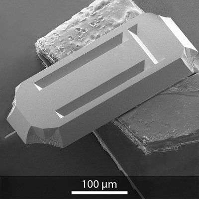 SEM image of Opus 240AC AFM probe
