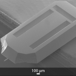 SEM image of OPUS 200AC AFM probe